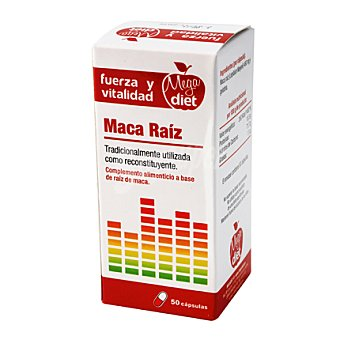 Megadiet Complemento alimenticio en cápsulas Maca Raiz 50 ud