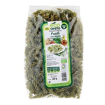 Ecocesta Fusilli con algas bio 500 g