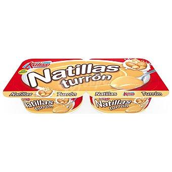 Kalise Natillas de turrón elaboradas sin gluten 2 x 135 g