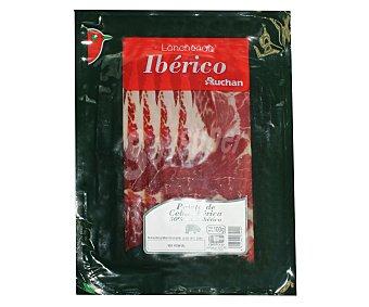 Auchan Paleta de cebo ibérica en lonchas 100 gramos
