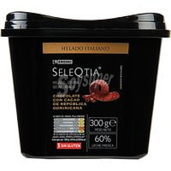 Eroski Seleqtia Helado de chocolate Tarrina 500 ml