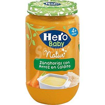 ab8b4344fbf31d HERO BABY Natur Tarrito de zanahorias con arroz en caldito sin gluten desde 4  meses frasco ...