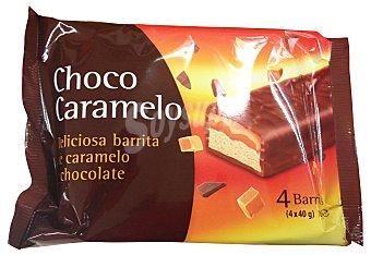 Voyager Chocolatina snack nougat caramelo 4 x 40 g