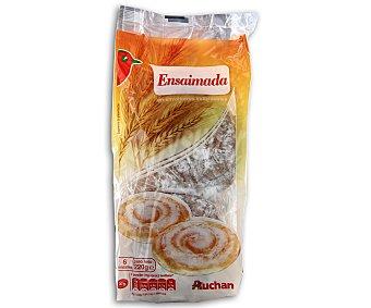Auchan Ensaimadas Bolsa de 220 gramos (6 unidades)