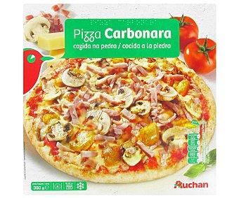 Auchan Pizza Carbonara congelada 350 Gramos