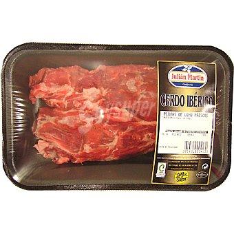 JULIAN MARTIN Pluma de lomo adobado de cerdo ibérico peso aproximado Bandeja 350 g