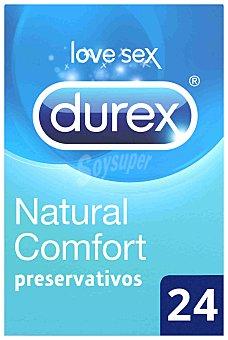 Durex Preservativos Natural Comfort 24 ud