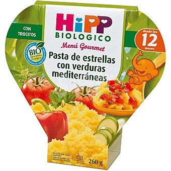 HiPP Biológico Pasta de estrellas con verduras mediterraneas desde los 12 meses bio Envase 260 g