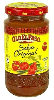 Old El Paso Salsa fuerte para fajitas y burritos 226 g