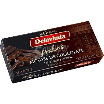 Delaviuda Praliné mousse de chocolate Estuche 200 g