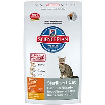 HILL'S SCIENCE PLAN STERILISED CAT Alimento especial para gatos esterilizados con pollo Bolsa 3,5 kg