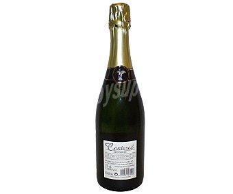 CANTARES Vino espumoso extra brut Botella de 75 Centilitros