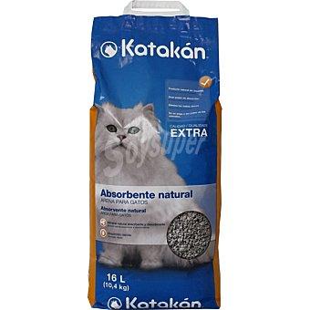KATAKÁN Arena para gatos natural Bolsa 16 l