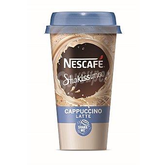 Nescafé Bebida de café cappuccino con leche Shakissimo Vaso 190 ml