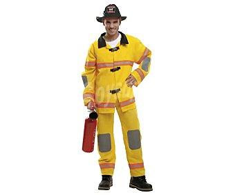 My other me Disfraz de bombero para adulto, talla m-l, incluye pantalón, chaqueta y sombrero, Me.