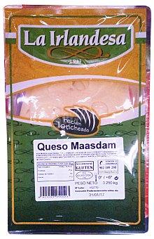La Irlandesa Queso barra masdam 10 lonchas Paquete 250 g