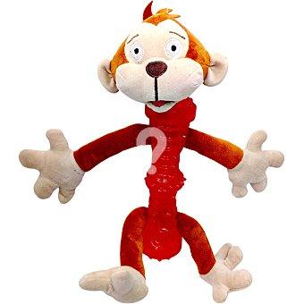 Juguete para perro modelo mono cuerpo de caucho