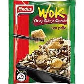 Findus Wok Arroz Shiitake c/pollo 350 Bolsa 350 g