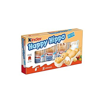 Kinder Happy Hippo 5 Unidades 103 Gramos