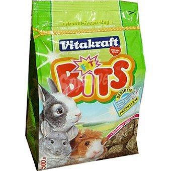 VITAKRAFT FIT BITS Bloques de alfalfa para roedores paquete 500 g Paquete 500 g