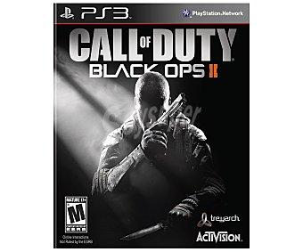 Activision Videjuego Call Of Duty: Black Ops 2 para PS3. Género: Shooter No Recomendado para menores 18 años. pegi 18 - 1 Unidad 1u