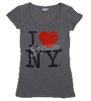 Vintage Camiseta magas cortas promo cuello redondo