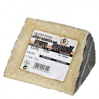 Puro Queso de oveja añejo reserva Legio cuña 1/8, 300 g aprox 300.0 g. aprox