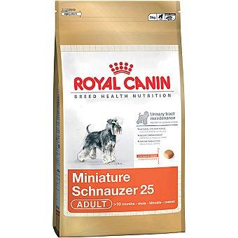 ROYAL CANIN ADULT Schnauzer Miniature alimento completo especial para perros de raza desde los 10 meses Bolsa 3 kg