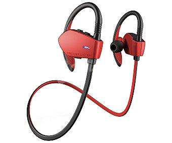 Energy Sistem Auriculares Bluetooth tipo deportivo sport RED 427758 con micrófono, rojo con micrófono, rojo