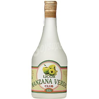 CLUB Licor de manzana verde botella 70 cl 70 cl