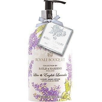 BAYLIS & HARDING Royale Bouquet loción para las manos Lila y Lavanda dosificador  500 ml