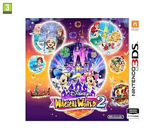Minijuegos Videojuego Disney Magical World 2 para Nintendo 3Ds. Género: minijuegos. PEGI: +3 2 3Ds