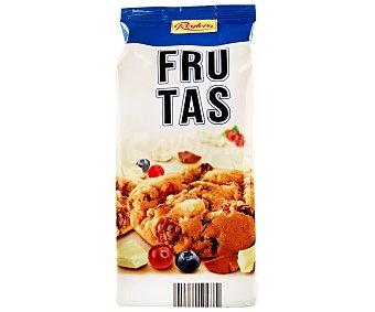 Reglero Galletas cookies con chocolate blanco, chocolate con leche, arándanos azules y rojos 200 gramos