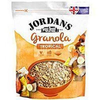 Jordans Cereal granola tropical Paquete 370 g