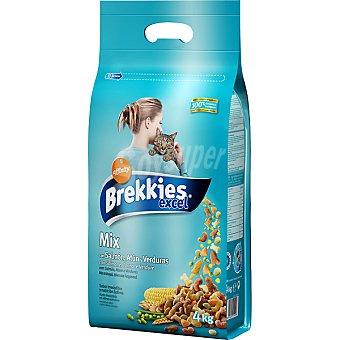 Brekkies Affinity Brekkies Excel Feline salmón, atún y verduras Bolsa 4 kg