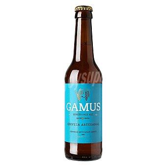 Gamus Cerveza artesana Ginger Pale Ale 33 cl