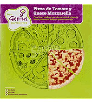 Genius Pizza de Tomate y Queso Mozzarella 240 g.