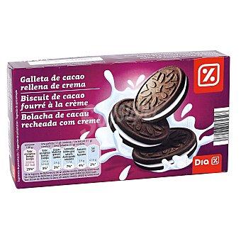 DIA Galleta de cacao rellena de crema de leche Paquete 176 grs