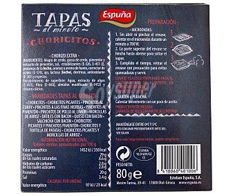 Espuña Choricitos 80g