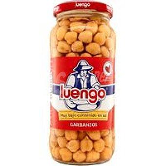Luengo Garbanzo cocido bajo sal Frasco 400 g