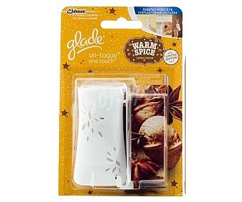 Glade Brise Ambientador Un Toque mini spray más un recambio con esencia calidez invernal 1 unidad