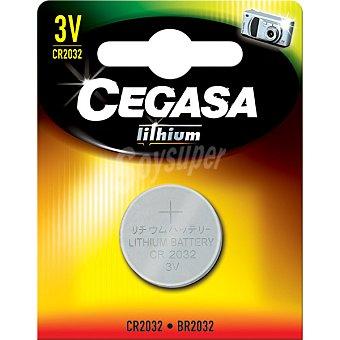 CEGASA CR2032 3V Pila especial de Litio blister 1 unidad