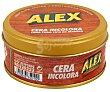Cera incolora para todo tipo de madera (restaura, nutre y protege) 250 ml Alex