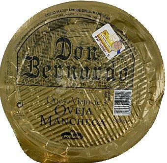 Don Bernardo Queso viejo de oveja con denominación de origen La Mancha 880 gramos