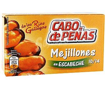 Cabo de Peñas Mejillones en escabeche de las rías gallegas, sin gluten 45 gramos