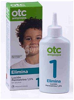 OTC Antipiojos Loción antipiojos con permetrina , sin alcohol 125 Mililitros