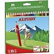 Lápices colores 24 uds Alpino