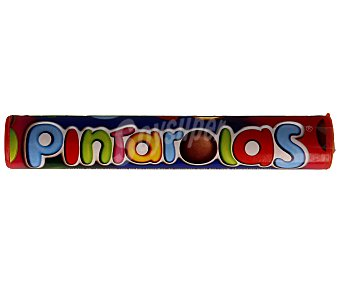 PINTAROLAS Pastillas de chocolate cubiertas de azúcar de colores 22 gramos