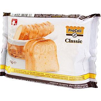 PROCELI Classic pan de molde 2 rebanadas Envase 40 g