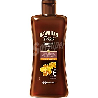 Hawaiian Tropic Aceite protector FP-6 Bote 200 ml